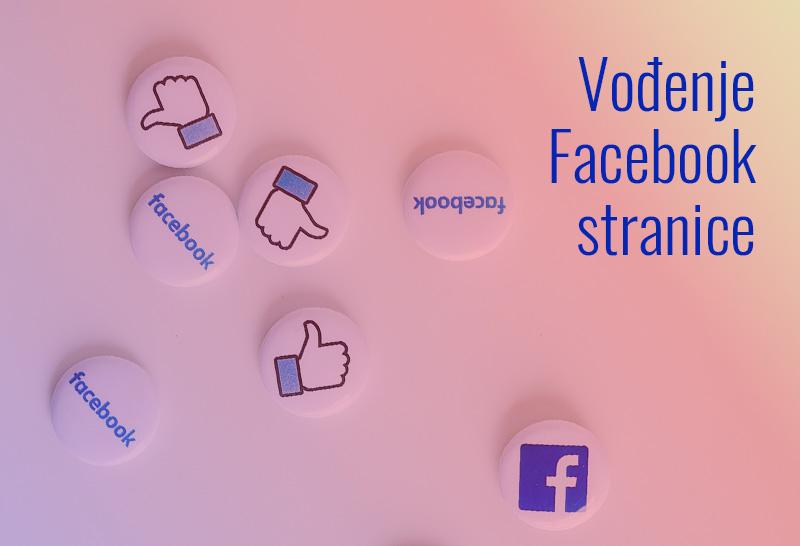 vođenje facebook stranice