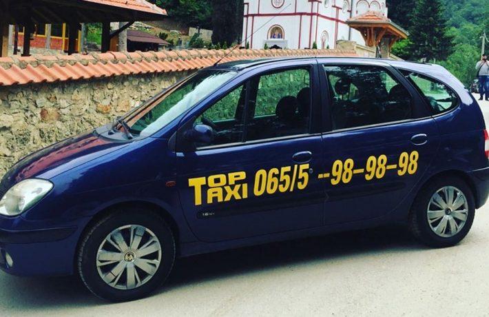 top taxi topola